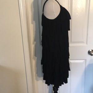 INC International Concepts Dresses - INC International Concepts Tiered Black Dress